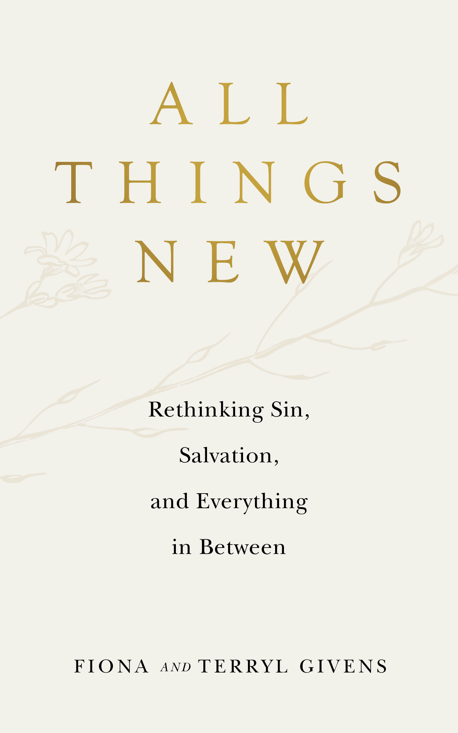 All Things New cover image